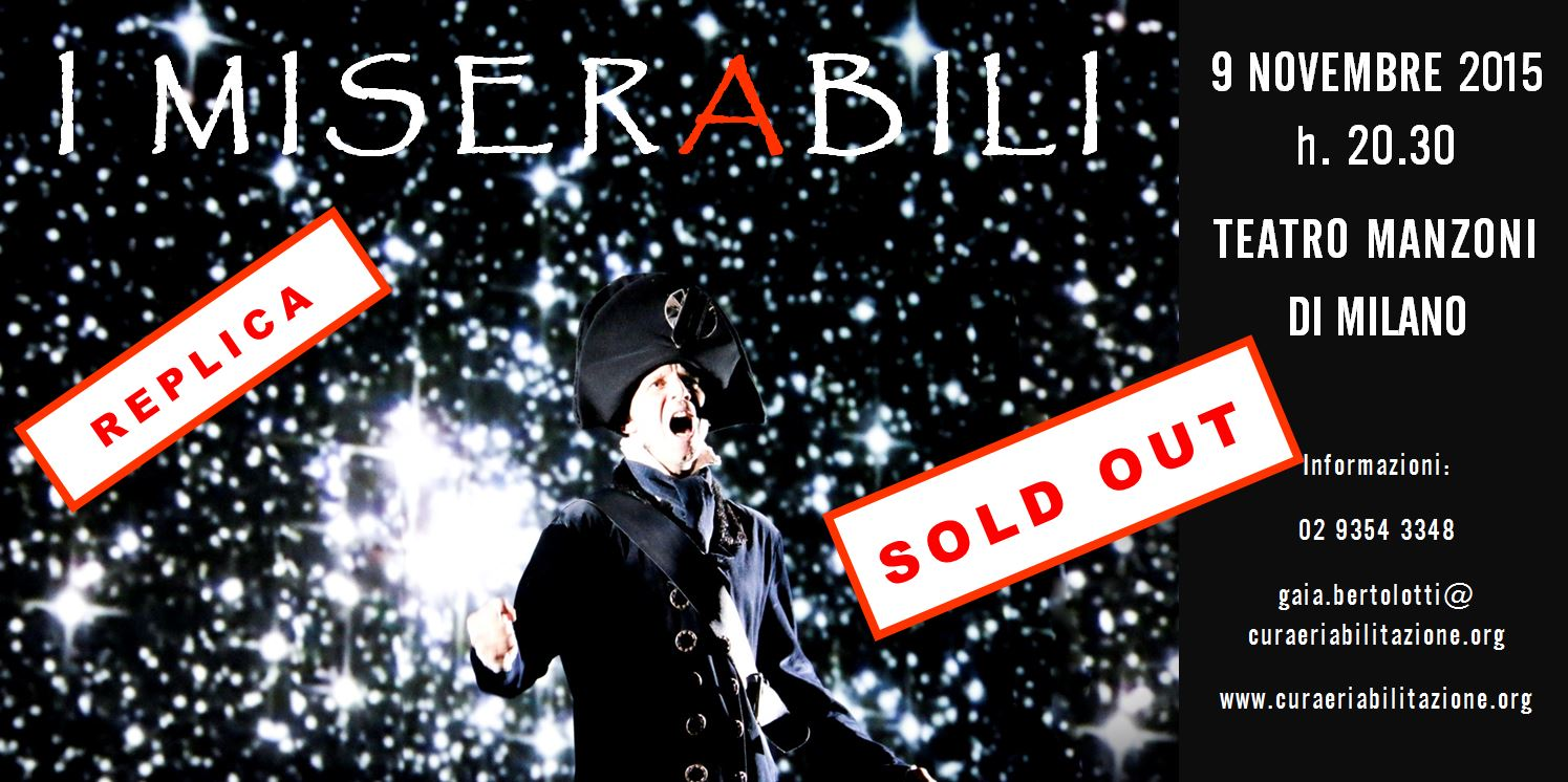 Miserabili Manzoni_sold out