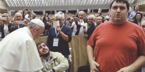 Dal papa con il Banco Alimentare